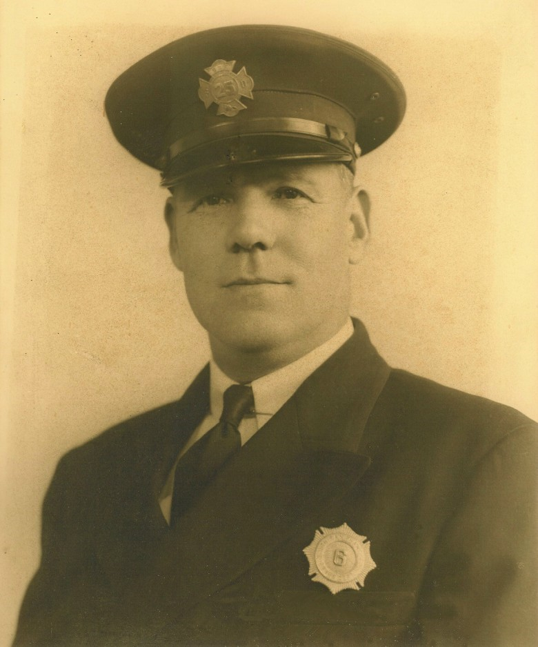 Clifford Franklin Begnal - Fire Fighter